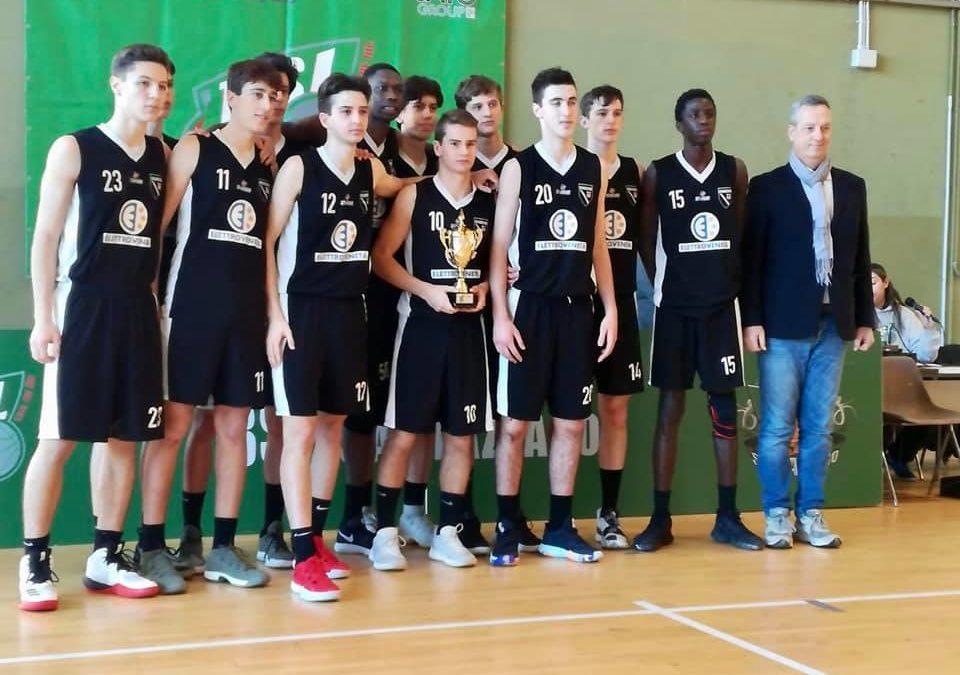 Petrarca U16 Ecc., quinto posto di prestigio al Trofeo Malaguti Coach Zanatta premiato come miglior allenatore del torneo