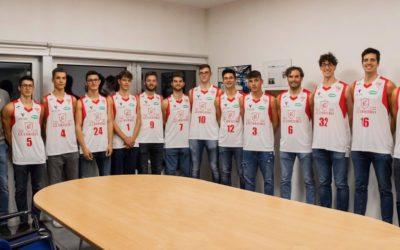 Guerriero-Riese apre il campionato di C Gold 2019/2020 Svelate le nuove divise di gioco durante la presentazione nella sede Vecom