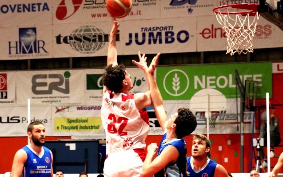 Allungo Guerriero, piegata nel finale Montebelluna Terza vittoria di fila per l'Unione e terzo posto in classifica