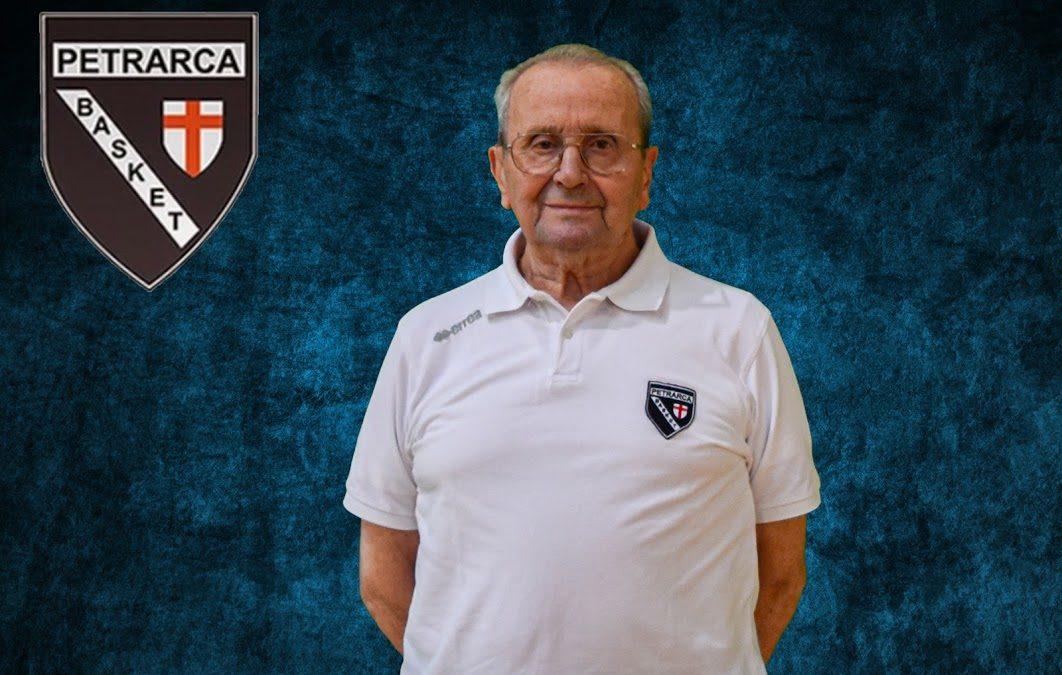 Fabio Fabiano, 89 e non sentirli. Buon compleanno maestro! Il coach, simbolo del Petrarca, allena da 65 anni