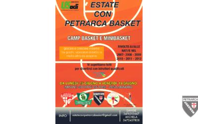 Estate con il Petrarca! City Camp a Ca' Rasi dal 15 al 19 giugno